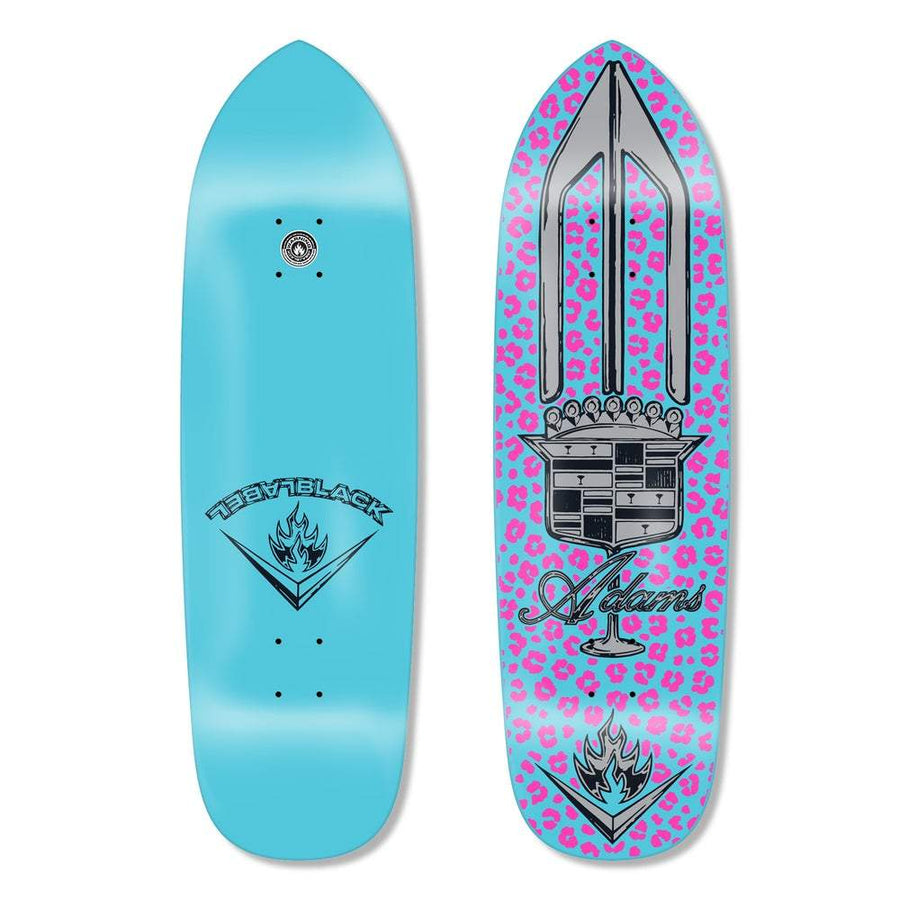 BLACK LABEL DECK - ADAMS EL DORADO DECK TEAL DIP (9.5