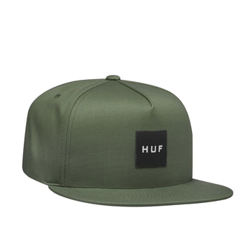 HUF ESSENTIALS BOX SNAPBACK MARTINI OLIVE