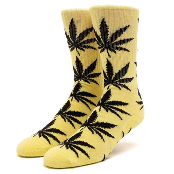 HUF PLANTLIFE SOCK LEMON - The Drive Skateshop