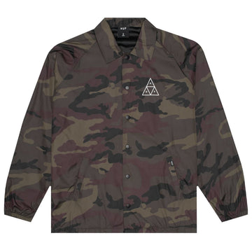 HUF ESSENTIALS COACHES JACKET RUSSET CAMO - Seo Optimizer Test