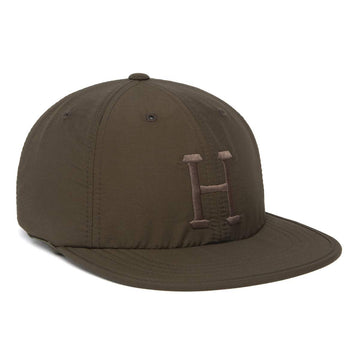 HUF FORMLESS CLASSIC H 6 PANEL OLIVE - The Drive Skateshop
