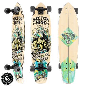 SECTOR 9 COMPLETE - FORTUNE FORT POINT - The Drive Skateshop