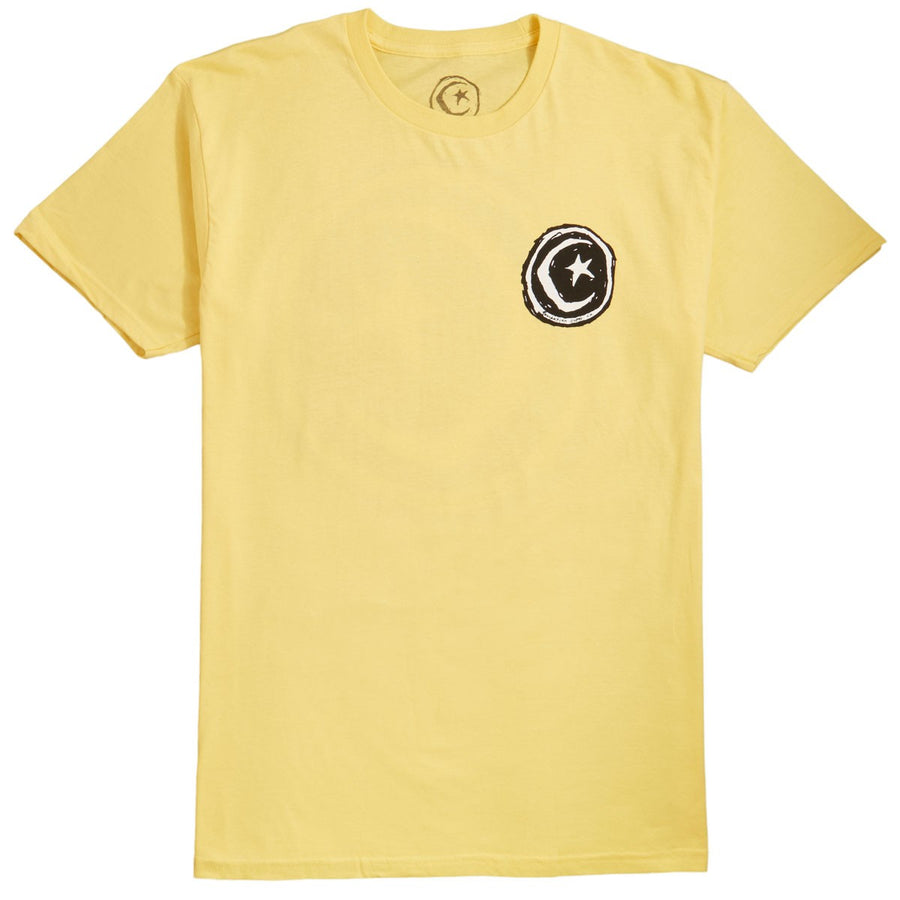 FOUNDATION S/S T-SHIRT - STAR & MOON YELLOW - Seo Optimizer Test