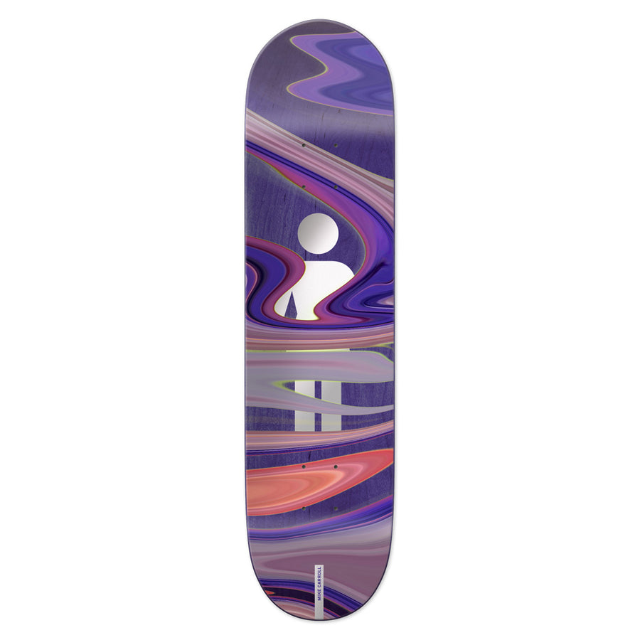 GIRL CARROLL OIL SLICK DECK 8.375 - The Drive Skateshop