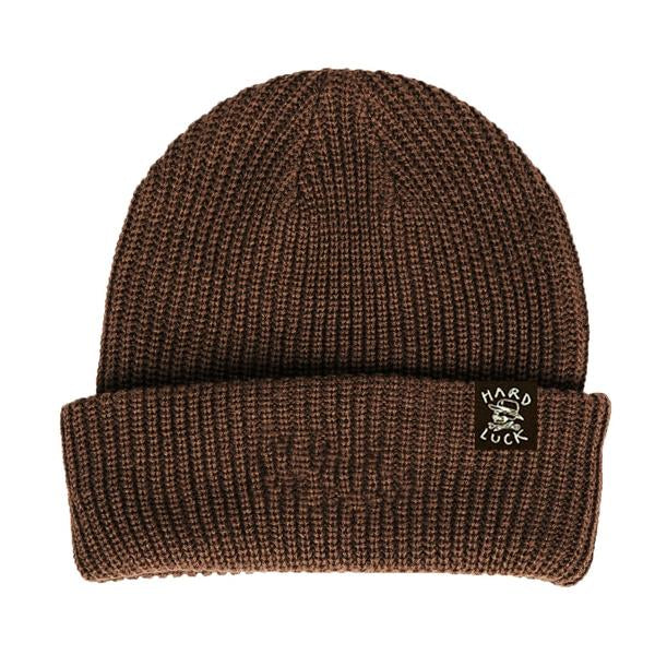 HARD LUCK BEANIE - OG WOVEN BROWN - Seo Optimizer Test