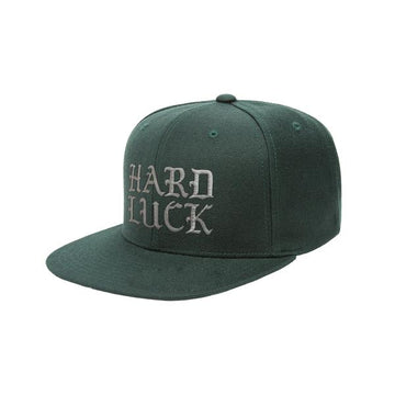 HARD LUCK HAT - OLD HAND SNAPBACK GREEN