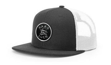 HARD LUCK HAT - OG LOGO TRUCKER GREY