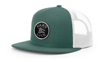 HARD LUCK HAT - OG LOGO TRUCKER GREEN