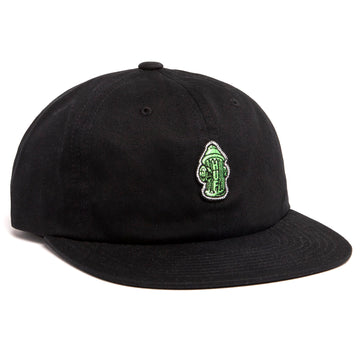 HUF HYDRANT UNSTRUCTURED 6 PANEL BLACK