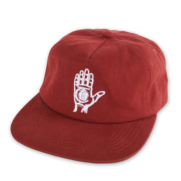 THEORIES HAND OF THEORIES STRAPBACK HAT CRIMSON - Seo Optimizer Test