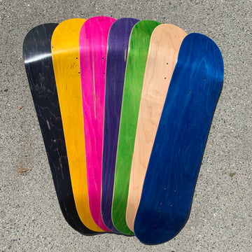 BLANK TOP SHELF SKATEBOARD DECKS (7.5