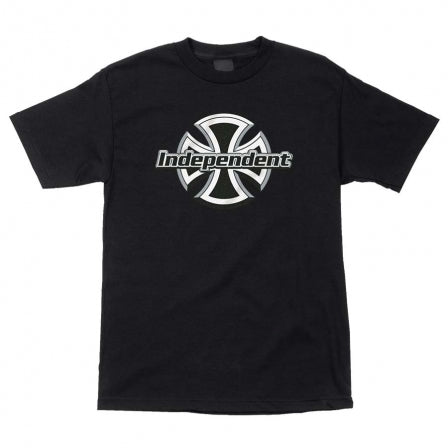 INDY T-SHIRT CHROME FRONT