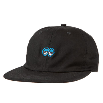 KROOKED EYES STRAPBACK BLACK