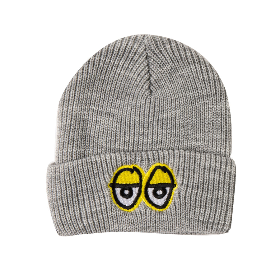 KROOKED EYES EMB CUFF BEANIE GREY - Seo Optimizer Test