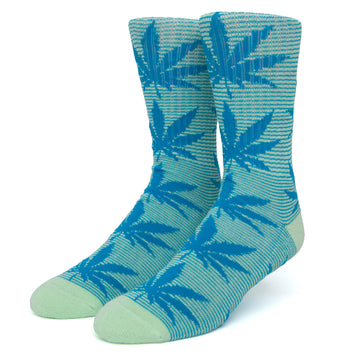 HUF MICRO STRIPE PLANTLIFE SOCK MINT