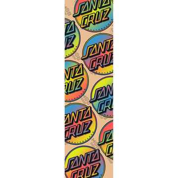 MOB GRIP SHEET SANTA CRUZ CONTRA ALLOVER CLEAR - The Drive Skateshop