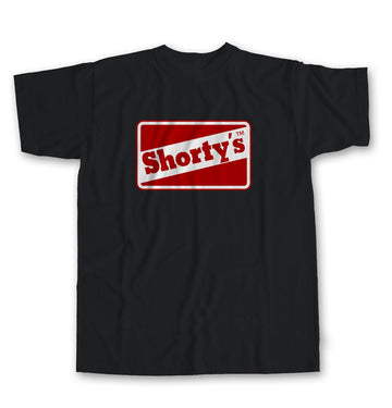 SHORTYS T-SHIRT OG LOGO BLACK - The Drive Skateshop