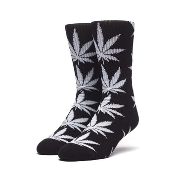 HUF PLANTLIFE SOCKS BLACK - The Drive Skateshop