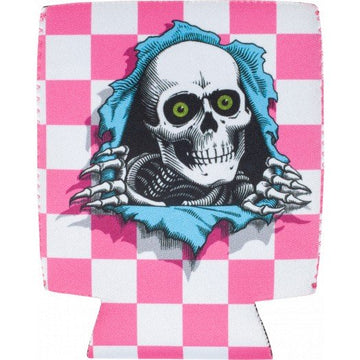 POWELL PERALTA KOOZIE - CHECKER PINK