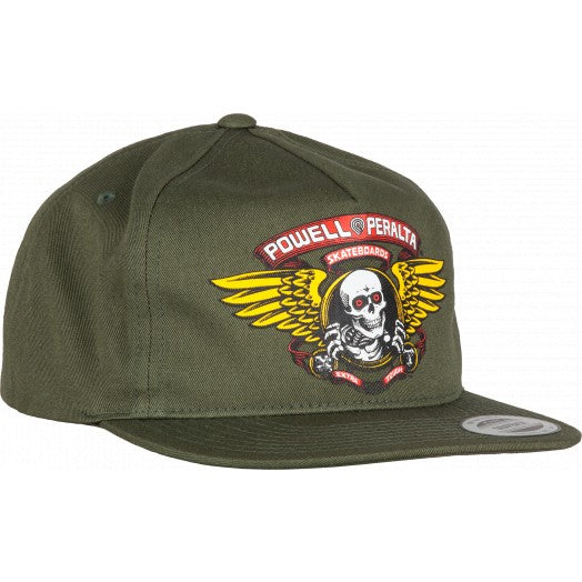 POWELL PERALTA CAP SNAPBACK - WINGED RIPPER