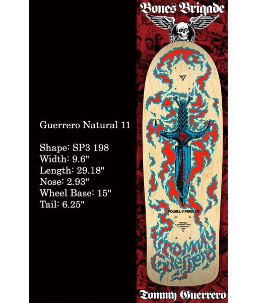 POWELL-PERALTA TOMMY GUERRERO SERIES 11 RE-ISSUE - The Drive Skateshop