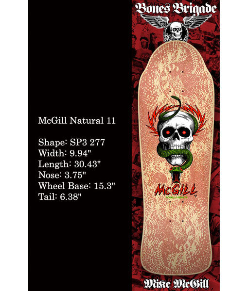 POWELL- PERALTA MIKE MCGILL SERIES 11 RE-ISSUE - The Drive Skateshop