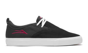 LAKAI RILEY 2 BLACK/RED SUEDE