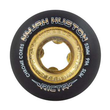 RICTA WHEELS NYJAH CHROME CORE BLK/GLD SLIM 99A (52MM/53MM) - Seo Optimizer Test