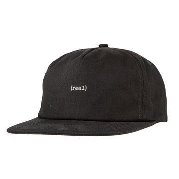 REAL REAL LOWER SNAPBACK HAT