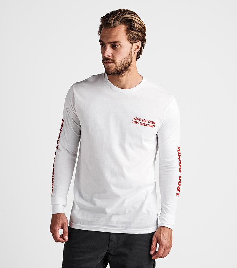 ROARK LOCH NESS L/S WHITE TEE - Seo Optimizer Test