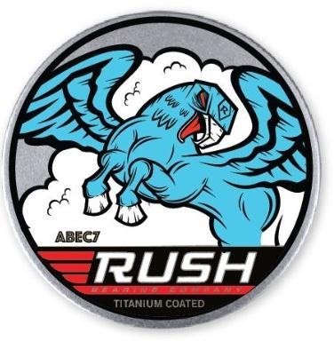 RUSH BEARINGS - ABEC 7 TIN - The Drive