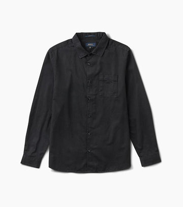 ROARK WELL WORN L/S WOVEN BLACK