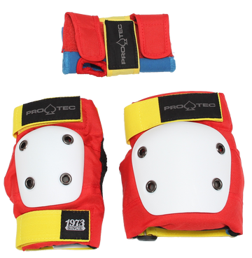 PRO-TEC - JUNIOR 3-PACK PADS RETRO - The Drive Skateshop