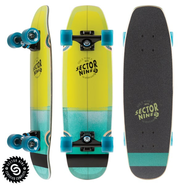 SECTOR 9 - SESSION BAT RAY GREEN 26.25