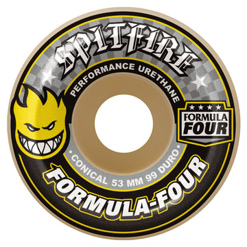 SPITFIRE FORMULA FOUR 99D CONICAL (53MM) - The Drive Skateshop