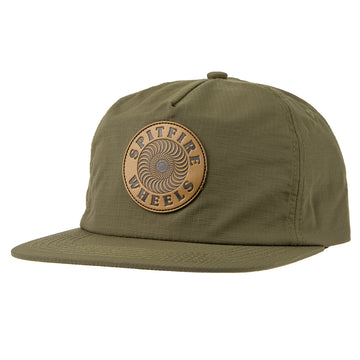 SPITFIRE OG SWIRL PATCH SNAPBACK DARK ARMY/BLACK