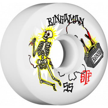 BONES STF WHEEL - BINGAMAN ZAPPED V5 (55MM) - The Drive
