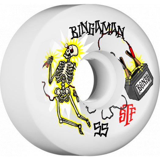 BONES STF WHEEL - BINGAMAN ZAPPED V5 (55MM) - Seo Optimizer Test