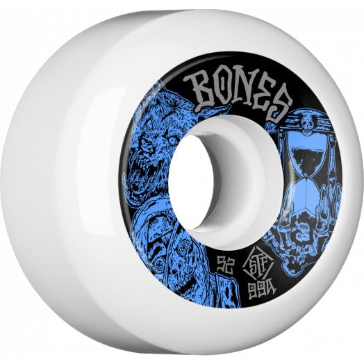BONES STF WHEEL - EASY STREETS TIME BEASTS SIDECUT V5/99A (52MM) - Seo Optimizer Test
