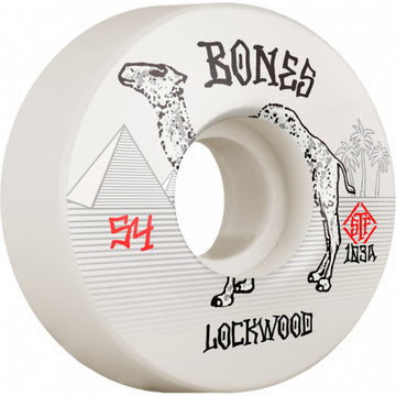 BONES STF WHEEL - LOCKWOOD SMOKIN V3 SLIMS (54MM)