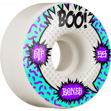 BONES STF WHEEL - BOO RAPS V4 WIDE (55MM)