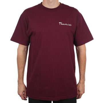 THEORIES SAHARA HEAVY DUTY BURGUNDY TEE - Seo Optimizer Test