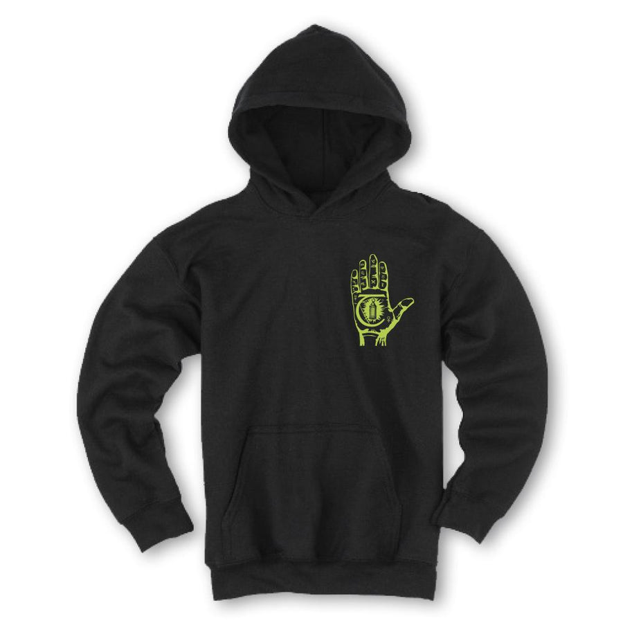 THEORIES MYSTIC ADVISOR PULLOVER BLACK/NEON GREEN - Seo Optimizer Test