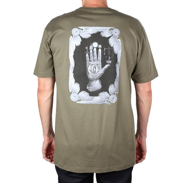 THEORIES S/S T-SHIRT - HAND OF THEORIES GREEN - Seo Optimizer Test