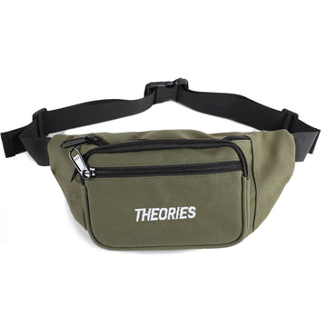 THEORIES STAMP DAY BAG OLIVE - The Drive Skateshop