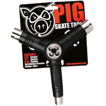PIG RETHREADER SKATEBOARD TOOL - The Drive Skateshop