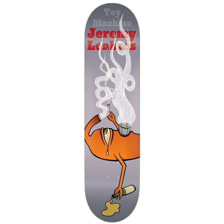 TOY MACHINE DECK - LEABRES CHAIN SMOKER (8.25