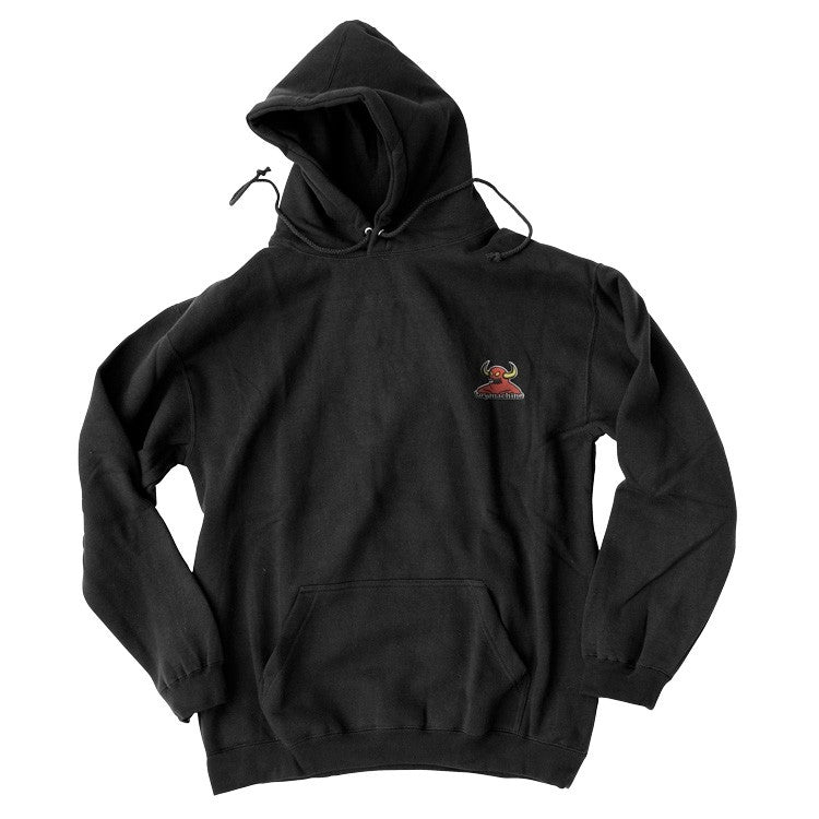 TOY MACHINE PULLOVER HOODY - MONSTER EMBROIDERED BLACK - Seo Optimizer Test