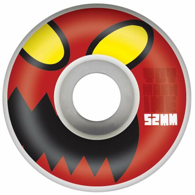 TOY MACHINE WHEELS - MONSTER HEAD NATURAL (52MM) - The Drive Skateshop