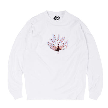 MAGENTA L/S T-SHIRT - PEACOCK WHITE - Seo Optimizer Test